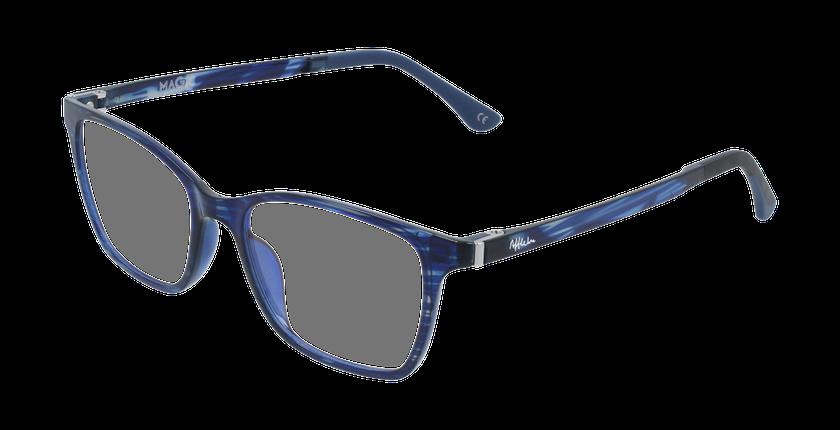 Lunettes de vue femme MAGIC 60 BLUEBLOCK bleu/violet - vue de 3/4