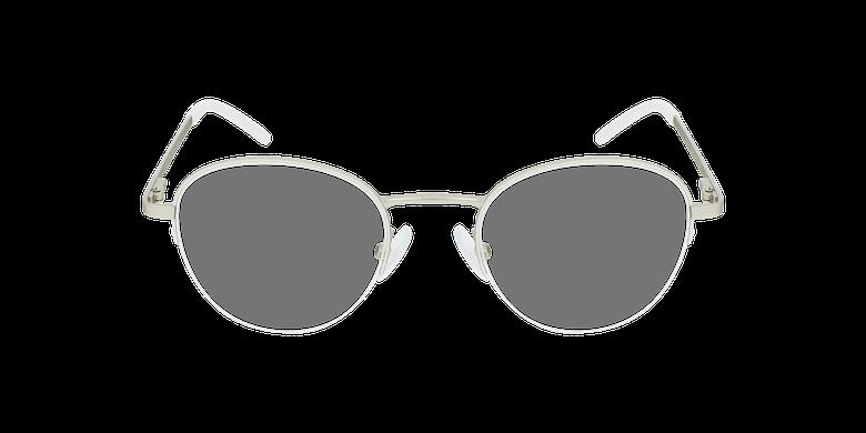 Lunettes de vue femme DOMI blanc/doréVue de face