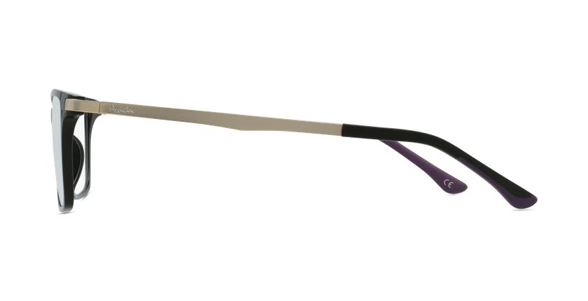 Lunettes de vue femme MAGIC 61 noir - Vue de côté