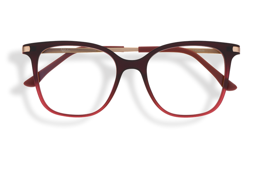 Lunettes de vue femme MAGIC 28 BLUEBLOCK rouge - danio.store.product.image_view_face