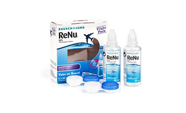 ReNu MPS Flight Pack 2 x 60 ml