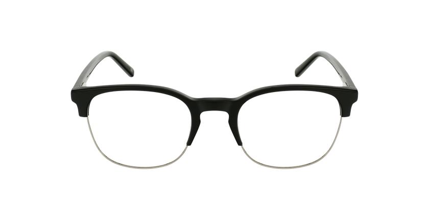 Lunettes de vue OWEN noir - Vue de face