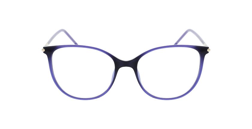 Lunettes de vue femme MAGIC 88 violet - Vue de face