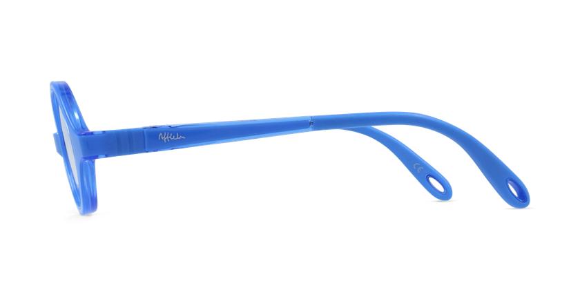 Lunettes de vue enfant RFOB1 bleu - Vue de côté