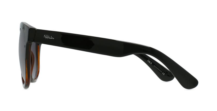 Lunettes de soleil femme LUZ noir/écaille - Vue de côté