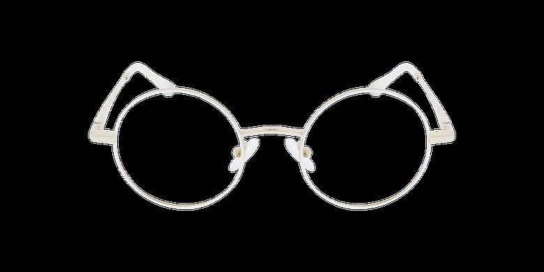 Lunettes de vue MAGIC 96 blanc/doréVue de face