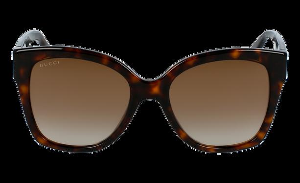 Lunettes de soleil femme GG0459S doré - danio.store.product.image_view_face