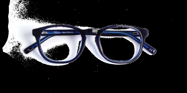 Lunettes de vue homme ORLAN bleu