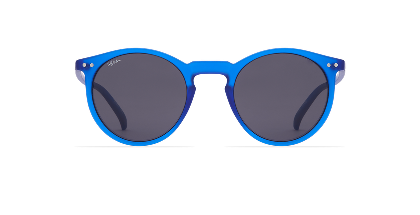 Lunettes de soleil ALTEA bleu - Vue de face