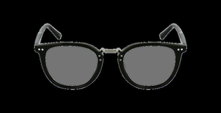 Lunettes de vue BACH noir - Vue de face