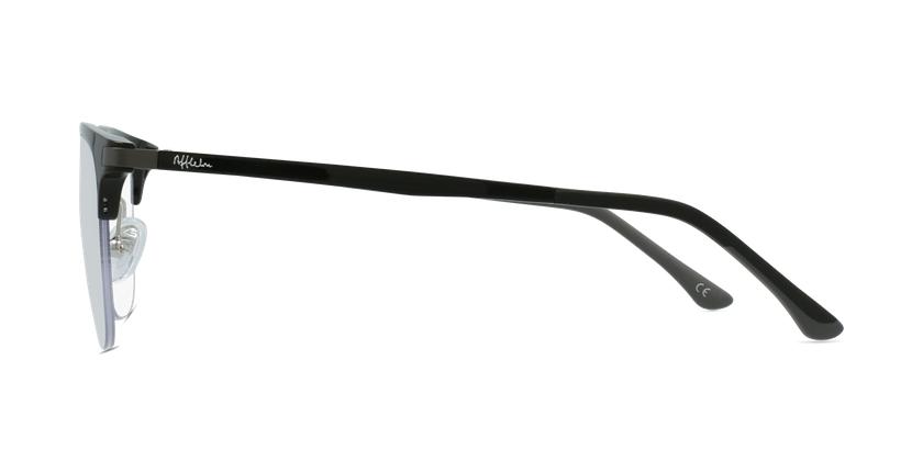 Lunettes de vue MAGIC 58 BLUEBLOCK noir - Vue de côté