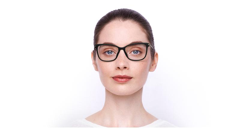Lunettes de vue femme GU2754 noir - Vue de face