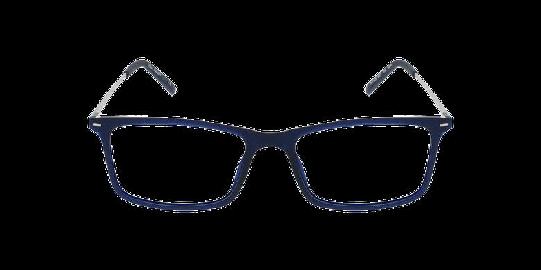 Lunettes de vue homme LENY bleu/argentéVue de face