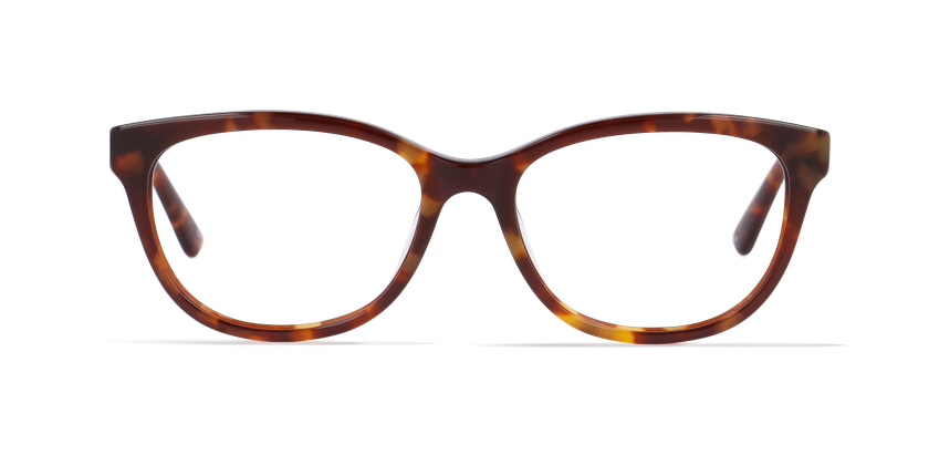 Lunettes de vue femme BETINA écaille - Vue de face