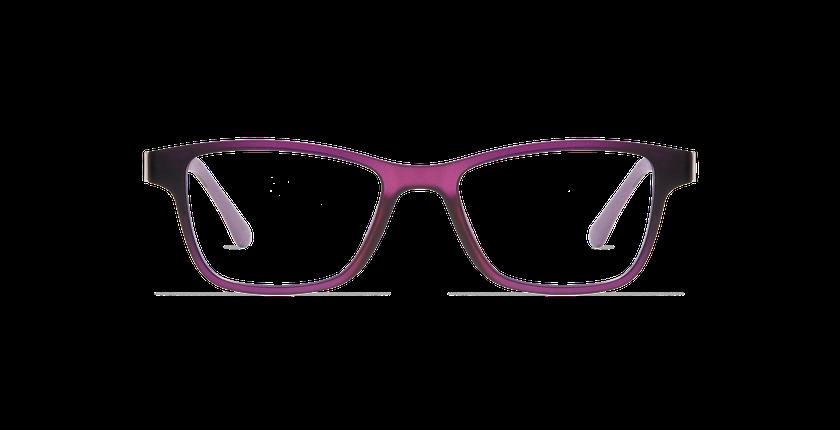 Lunettes de vue femme SMART TONIC 04 violet/violet frozen - Vue de face