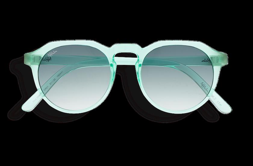 Lunettes de soleil VAMOS vert - danio.store.product.image_view_face