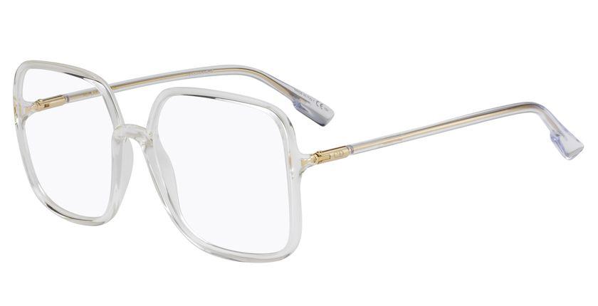 Lunettes de vue femme SOSTELLAIREO1 blanc - vue de 3/4
