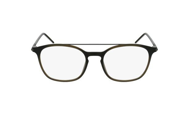 Lunettes de vue homme MAGIC 71 gris/vert - Vue de face