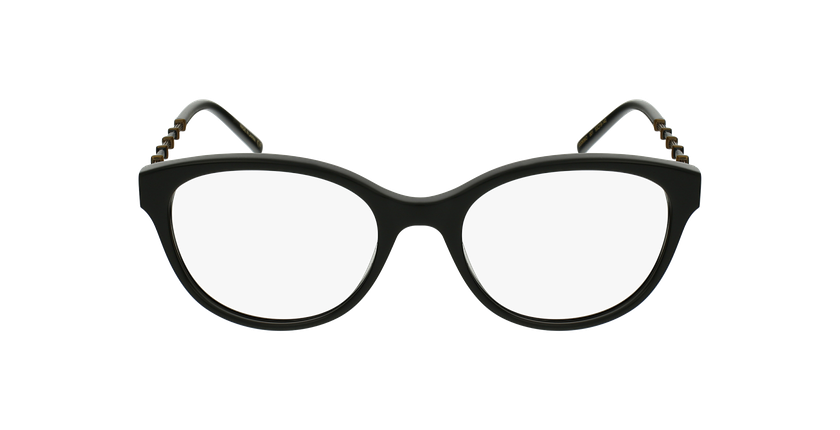 Lunettes de vue femme GG656O noir/doré - Vue de face