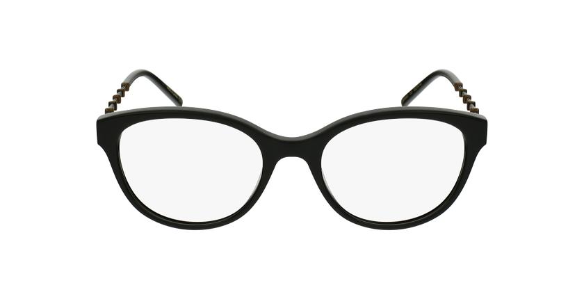 Lunettes de vue femme GG0656O noir/doré - Vue de face