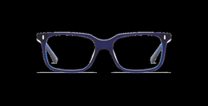 Lunettes de vue homme ANDREW violet/bleu - Vue de face