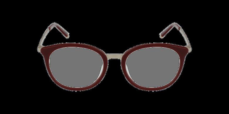 Lunettes de vue STRAWINSKI rougeVue de face