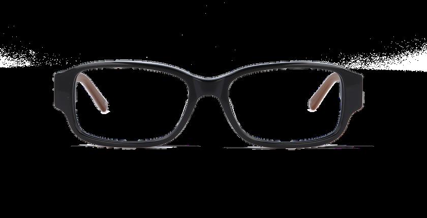 Lunettes de vue femme CHANTAL noir/autre - Vue de face