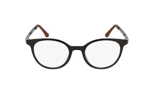 Lunettes de vue femme MAGIC 36 marron - Vue de face