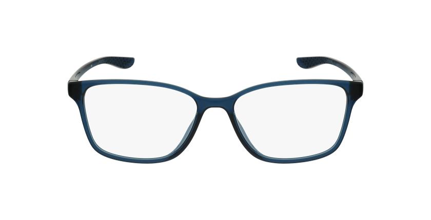 Lunettes de vue homme 7027 bleu - Vue de face