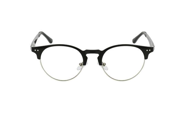Lunettes de vue MAGIC 93 noir/argenté - Vue de face