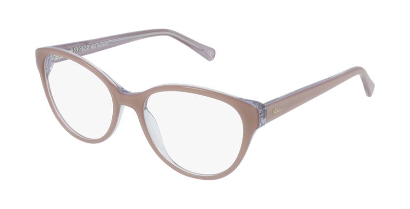 Lunettes de vue femme OAF20521 marron - vue de 3/4