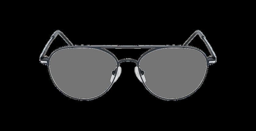 Lunettes de vue homme MERCURE bleu/blanc - Vue de face