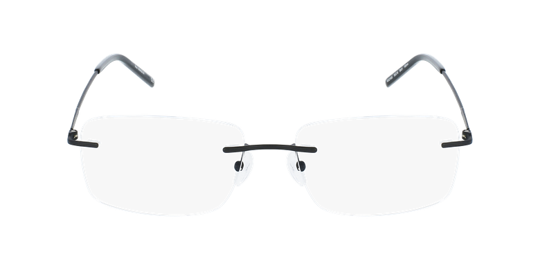 Lunettes de vue homme IDEALE-23 noirVue de face