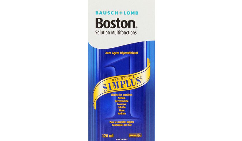 Boston Simplus 120ml - Vue de face