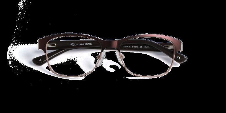 Lunettes de vue femme ARIANE noir/rose