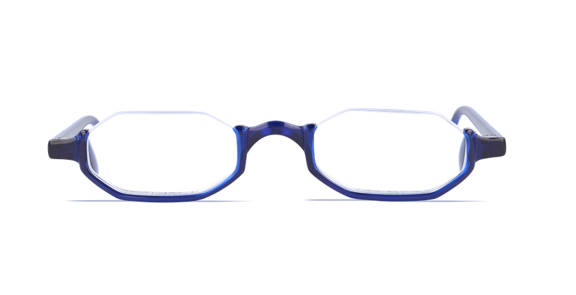 Lunettes de vue AFFLELOU FORTY bleu - Vue de face