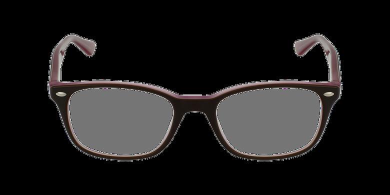 Lunettes de vue 0RX5375 écaille/roseVue de face