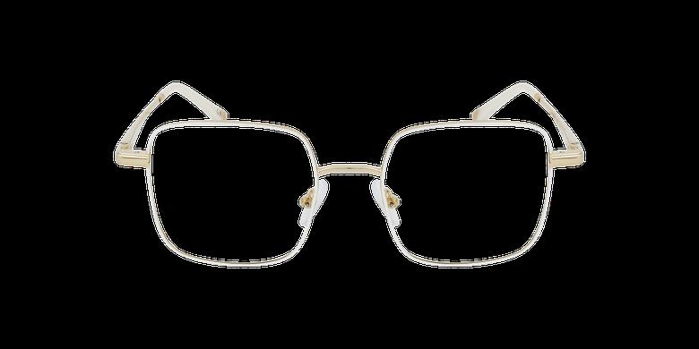 Lunettes de vue femme MAGIC 94 blanc/doréVue de face
