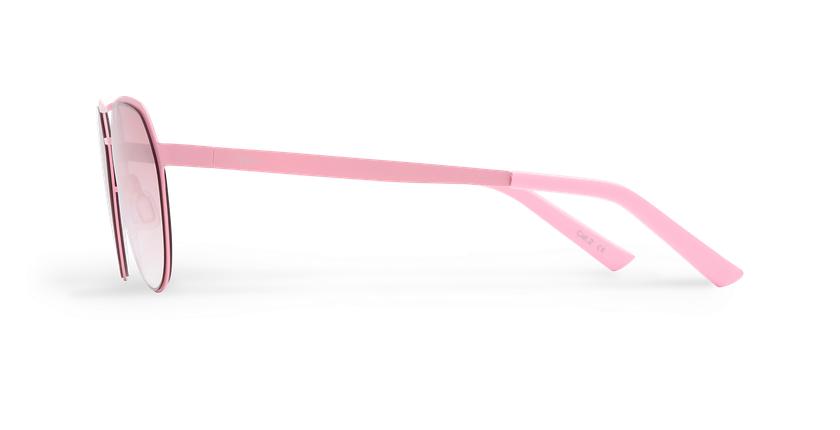 Lunettes de soleil homme DAYTONA rose - Vue de côté