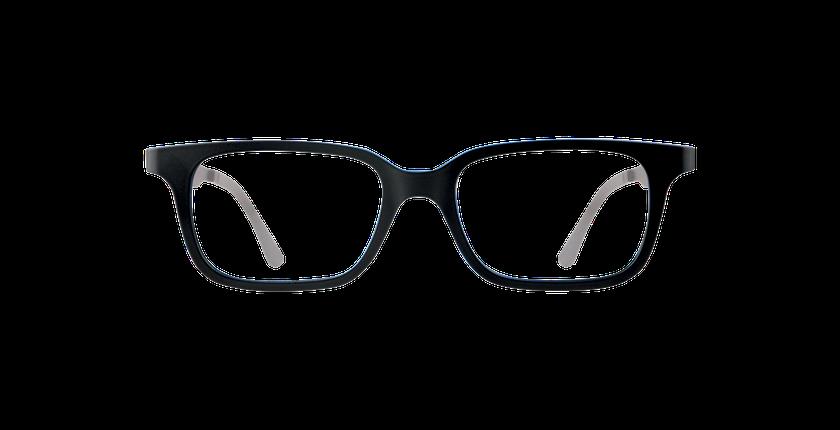 Lunettes de vue enfant SMART TONIC 12 noir/noir / bleu - Vue de face