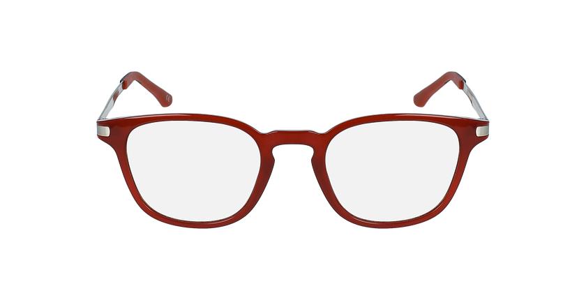 Lunettes de vue MAGIC 40 rouge - Vue de face