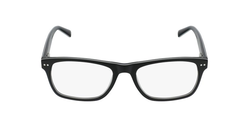 Lunettes de vue enfant TED noir/blanc - Vue de face