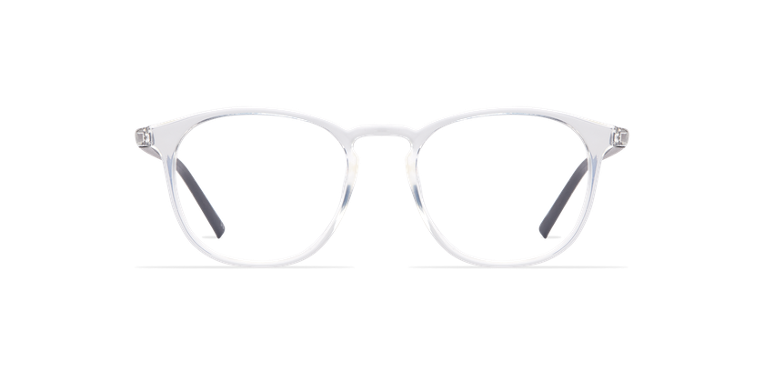 Lunettes de vue homme LIGHT TONIC cristal - Vue de face