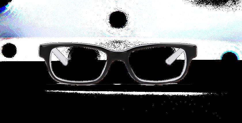 Lunettes de vue enfant ENZO noir - Vue de face