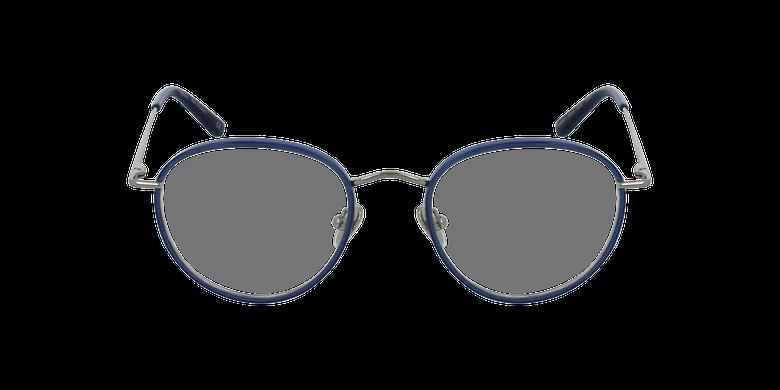 Lunettes de vue SHUBERT argenté/bleuVue de face