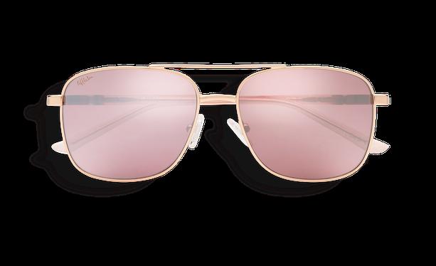 Lunettes de soleil MANGO doré/rose - danio.store.product.image_view_face