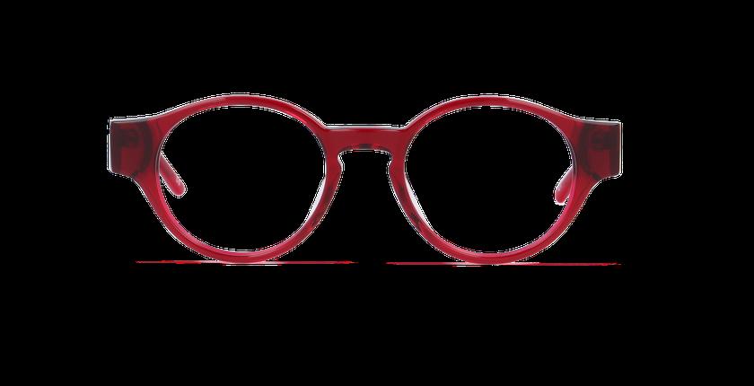 Lunettes de vue femme MILA rouge - Vue de face