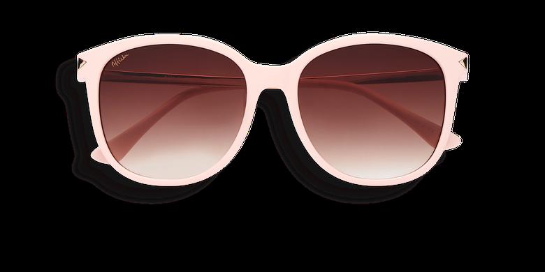 deb3e1935b0 Lunettes de soleil femme UNCIA rose