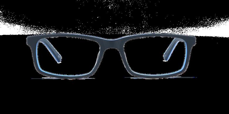 Lunettes de vue homme LEON bleu