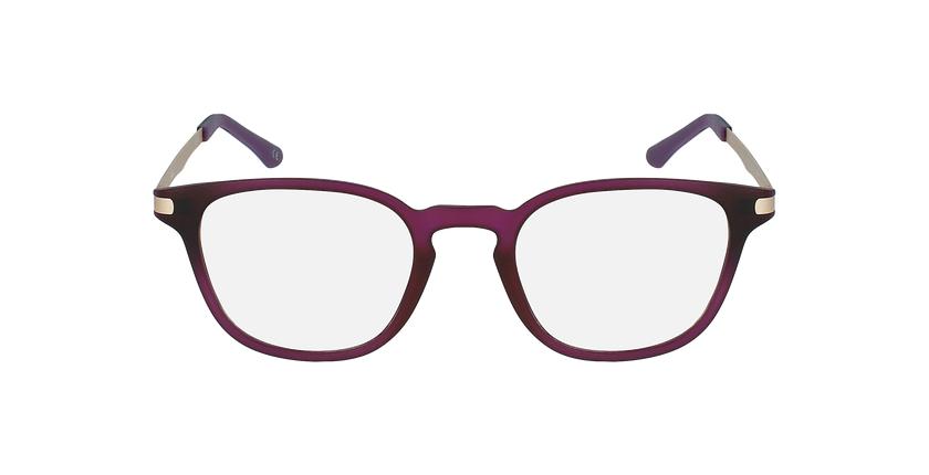 Lunettes de vue femme MAGIC 40 BLUEBLOCK violet - Vue de face